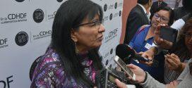 Entrevista a la Presidenta de la CDHDF, Nashieli Ramírez Hernández, en la presentación del Informe Anual ante la Sociedad 2017.