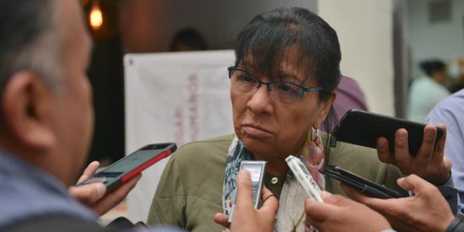 """Entrevista a la Presidenta de la CDHDF, Nashieli Ramírez Hernández, en el II Congreso Internacional """"Buenas Prácticas del Juzgar""""."""