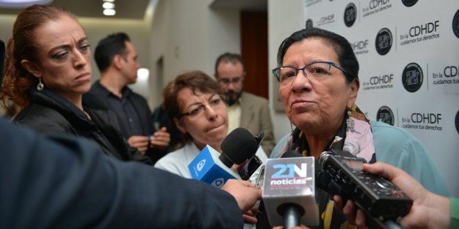 Entrevista a la Presidenta de la CDHDF, Nashieli Ramírez Hernández, luego de su participación en el evento por el Día Mundial de la Toma de Conciencia del Abuso y Maltrato a la Vejez