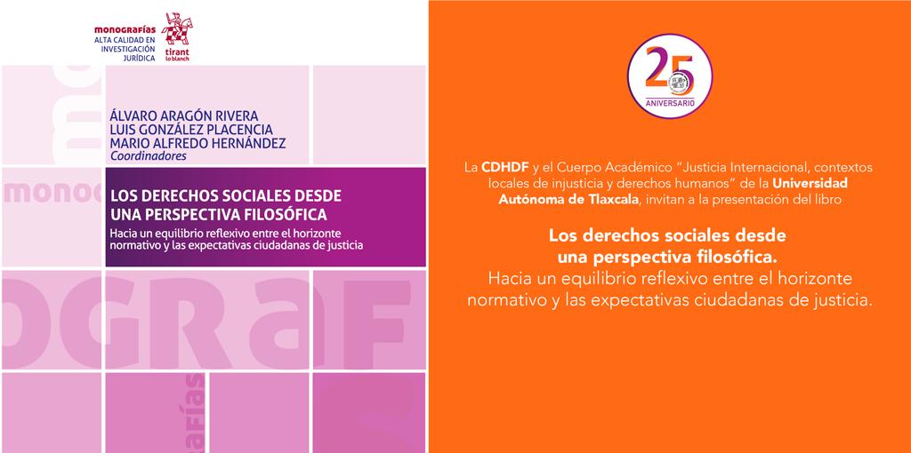 """Presentación del libro """"Los derechos sociales desde una perspectiva filosófica"""" @ CDHDF"""