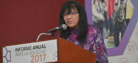 Discurso de la Presidenta de la CDHDF, Nashieli Ramírez Hernández, en la presentación del Informe Anual ante la Sociedad 2017.