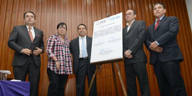 Galería: Firma del Convenio de Concertación entre la CEJUR y Ednica I.A.P.