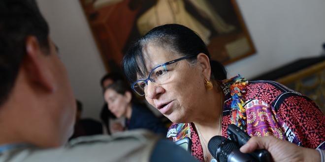 Transcripción de la entrevista a la Presidenta de la CDHDF, Nasheli Ramírez Hernández, en la Inauguración del Diplomado-Seminario sobre el Protocolo de Estambul