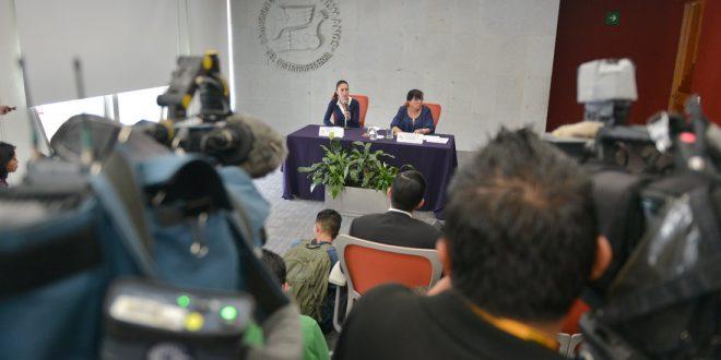 Transcripción de la conferencia de Nashieli Ramírez Hernández, Presidenta de la CDHDF; y la Doctora Claudia Sheinbaum Pardo, después de la reunión de trabajo que sostuvieron en la sede de este organismo defensor.