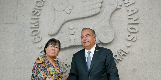 La CDHDF y la SSP trabajarán conjuntamente para garantizar seguridad apegada a los derechos humanos en la Ciudad de México