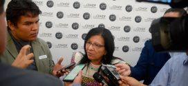Entrevista a la Presidenta de la CDHDF, Nashieli Ramírez Hernández, al término de la presentación del Acuerdo de Conciliación 01/2018