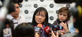 Entrevista a la Presidenta de la CDHDF, Nashieli Ramírez Hernández, luego de la presentación del Informe Especial: Crecimiento Urbano y Derechos Humanos en la Ciudad de México.