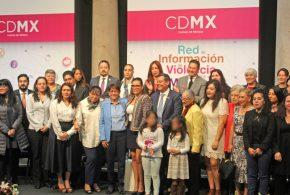 Galería: Encendido Simbólico, Red de Información de Violencia Contra las Mujeres