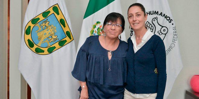 Galería: Reunión de la Presidenta de la CDHDF con la Dra.Claudia Sheinbaum