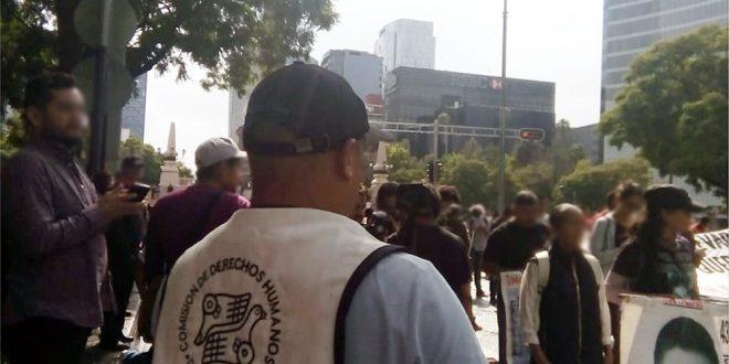 Galería: CDHDF acompañó marcha #Ayotzinapa47Meses