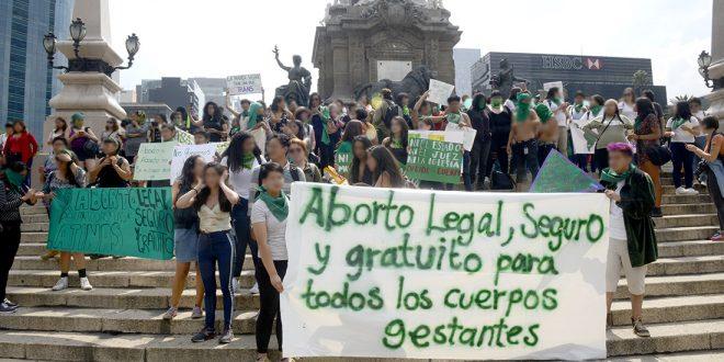 Galería: #CDHDF acompañó marchas #AbortoLegalYa, en la CDMX
