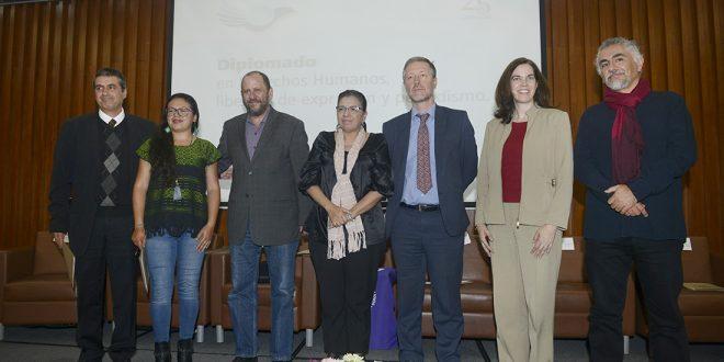 Galería: Diplomado de Derechos Humanos, Libertad de Expresión y Periodismo