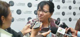 Entrevista a la Presidenta de la CDHDF, Nashieli Ramírez Hernández, al término del Conversatorio Constitución Política de la Ciudad de México, Derecho a la Ciudad y DESCA.