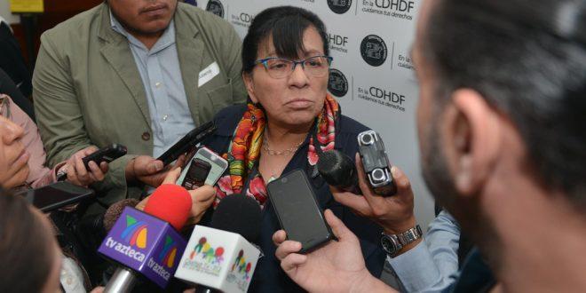 Entrevista a la Presidenta de la CDHDF, Nashieli Ramírez Hernández, en la presentación de la Recomendación 04/2018