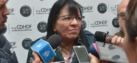 Entrevista a la Presidenta de la CDHDF, Nashieli Ramírez Hernández, en el Foro: Problemática en el Ejercicio de los Derechos Humanos de las Personas en Situación de Calle, en el Marco de la Ley de Cultura Cívica de la CDMX.