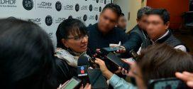Entrevista a la Presidenta de la CDHDF, Nashieli Ramírez Hernández, luego de la presentación de las Recomendaciones 05/2018, 06/2018, 07/2018, 08/2018 y 09/2018