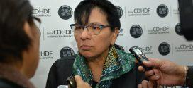 Entrevista a la Presidenta de la CDHDF, Nashieli Ramírez Hernández, luego de la presentación de la Recomendación 2/2018.