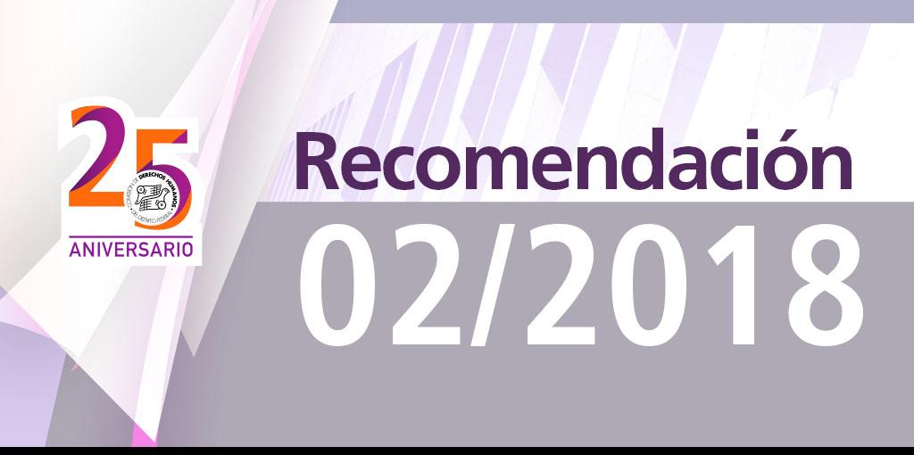 Presentación de laRecomendación 2/2018 @ CDHDF