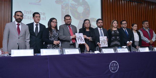 CDHDF presenta Informe Especial sobre derechos humanos de personas damnificadas por el sismo