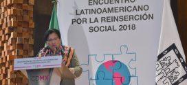 Discurso de la Presidenta de la CDHDF, Nashieli Ramírez Hernández, en la inauguración del Encuentro Latinoamericano por la Reinserción Social 2018