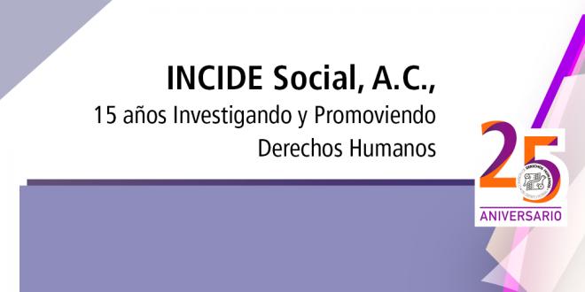 Invitación: 15 años Investigando y Promoviendo Derechos Humanos.