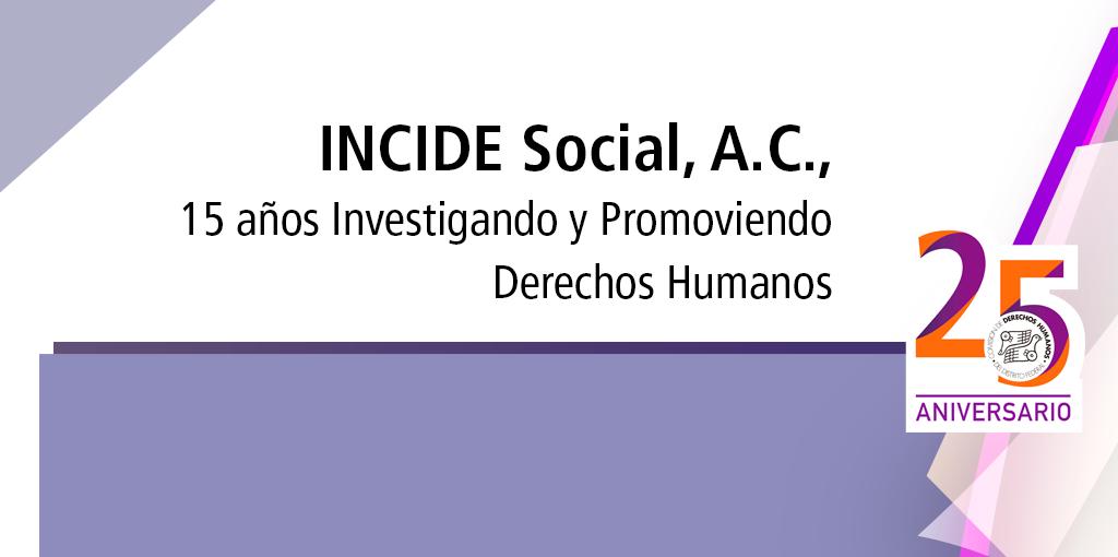 Invitación: 15 años Investigando y Promoviendo Derechos Humanos. @ CDHDF