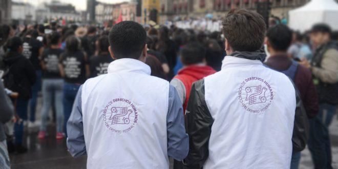 Galería: CDHDF acompañó marcha #Ayotzinapa4Años
