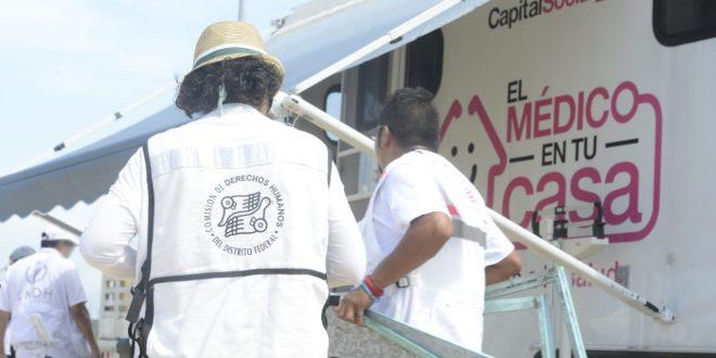 Llega a Juchitán ayuda humanitaria en apoyo del Éxodo Migrante