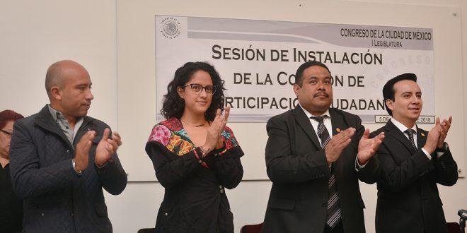 Galería: Instalación de la Comisión de Participación Ciudadana del Congreso de la Ciudad de México