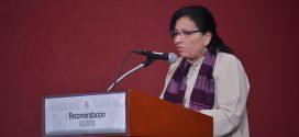 Transcripción del discurso de la Presidenta de la CDHDF, Nashieli Ramírez Hernández, en la presentación de la Recomendación 18/2018.