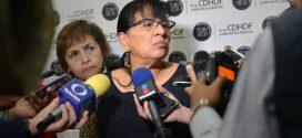 Entrevista a la Presidenta de la CDHDF, Nashieli Ramírez Hernández, en la presentación de la Recomendación 17/2018