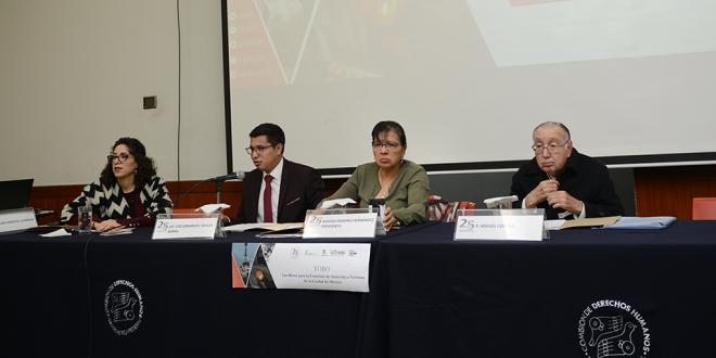 CDHDF y Organizaciones Civiles urgen al I Congreso a nombrar Comisionado de Atención a Víctimas para la Ciudad de México