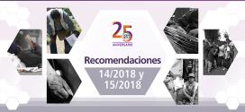 CDHDF Emite las Recomendaciones 14/2018 Y 15/2018 por negar servicios de salud y retiros forzosos de personas en situación de calle