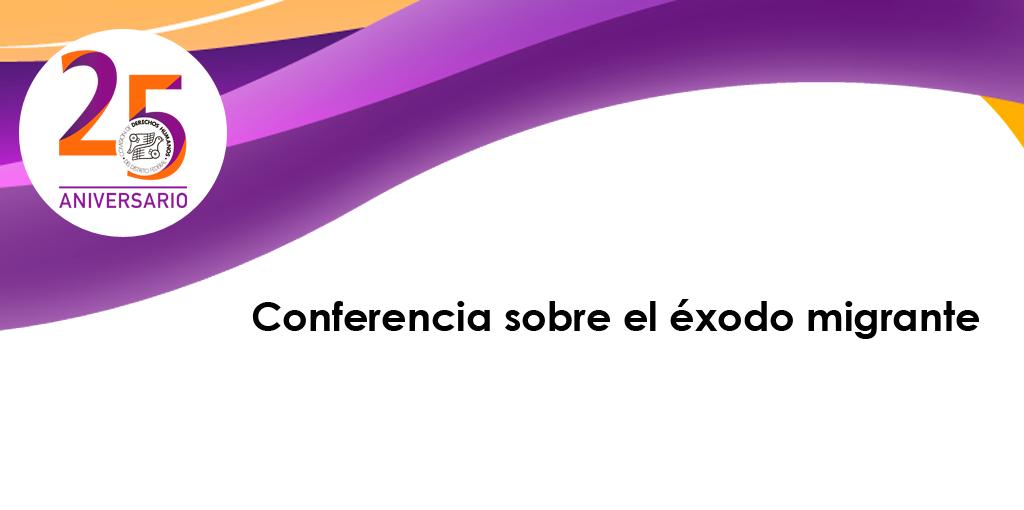 Conferencia sobre el éxodo migrante @ CDHDF