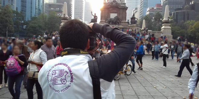 Galería:   CDHDF acompañó marcha #Ayotzinapa50meses