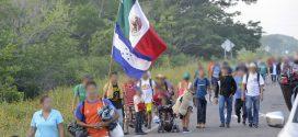 Galería: Éxodo migrante se dirige hacia Matías Romero