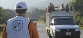 Éxodo migrante recibe ayuda humanitaria en Matías Romero, Oaxaca