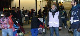Galería: Salida del éxodo migrante a Metro Cuatro Caminos