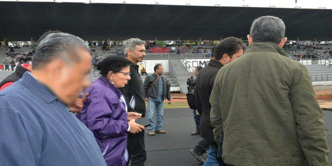 """Más de 470 migrantes centroamericanos reciben ya ayuda humanitaria en el Estadio Martínez """"Palillo"""""""