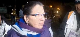 """Entrevista a la Presidenta de la CDHDF, Nashieli Ramírez Hernández, sobre el puente humanitario de la Ciudad de México, realizada en el Estadio """"Jesús Martínez Palillo"""""""