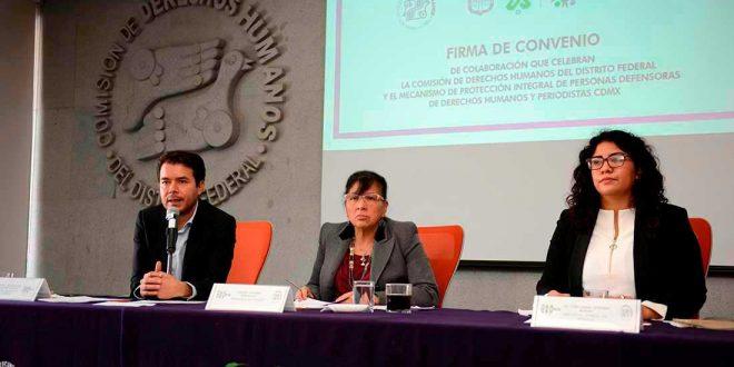 Transcripción de la sesión de preguntas y respuestas en la Firma de Convenio con el MPI CDMX, realizada en la sede de la CDHDF