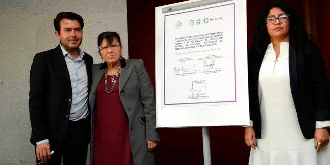 Galería: Firma de Convenio con Mecanismo de Protección Integral de Personas Defensoras de DDHH y Periodistas de la CDMX