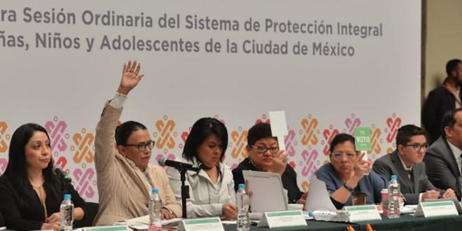 CDHDF participa en la 1a sesión ordinaria del SIPINNA de la Ciudad de México