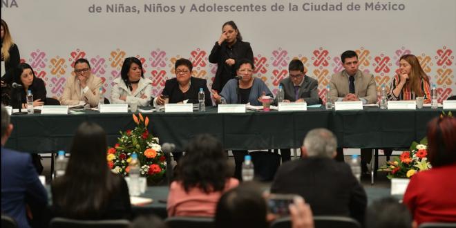 Palabras de la Presidenta de la CDHDF, Nashieli Ramírez Hernández, en la Primera Sesión Ordinaria del SIPINNA de la Ciudad De México.