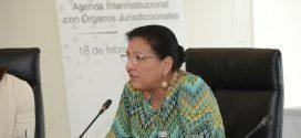 """Palabras de la Ombudsperson capitalina, Nashieli Ramírez Hernández, en la """"Reunión de Diálogo por los Derechos Humanos"""""""