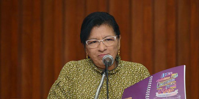 Palabras de la Presidenta de la CDHDF, Nashieli Ramírez Hernández, en la presentación de la Agenda Ciudadana 2019, Constitución de la Ciudad de México.