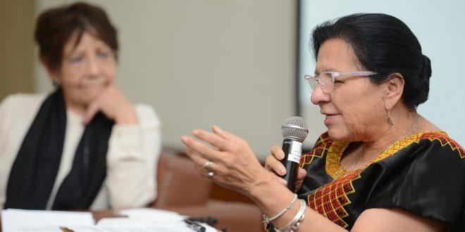 """Discurso de la Presidenta de la CDHDF, Nashieli Ramírez Hernández, en la inauguración del Foro: """"Derechos de las Audiencias. Nuestros Derechos de Regreso""""."""