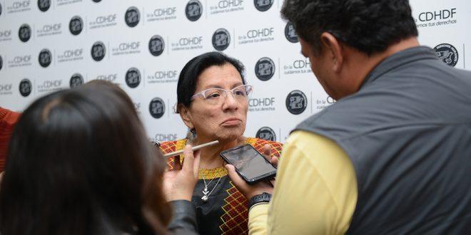 Entrevista a la Presidenta de la CDHDF, Nashieli Ramírez Hernández, en el Foro: Derechos de las Audiencias. Nuestros Derechos de Regreso