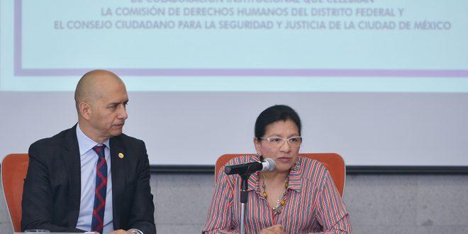 Galería: Firma de Convenio con el Consejo Ciudadano para la Seguridad y Justicia CDMX