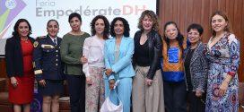 Feria Empodérate DH, promueve los derechos laborales de mujeres en el servicio público, en un ambiente libre de violencias